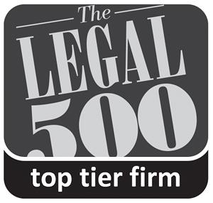 Legal500 award